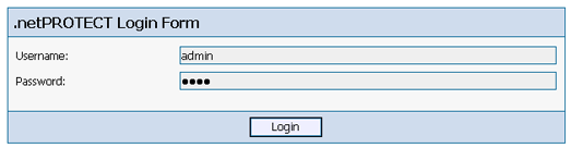 dotnetProtect Login Form
